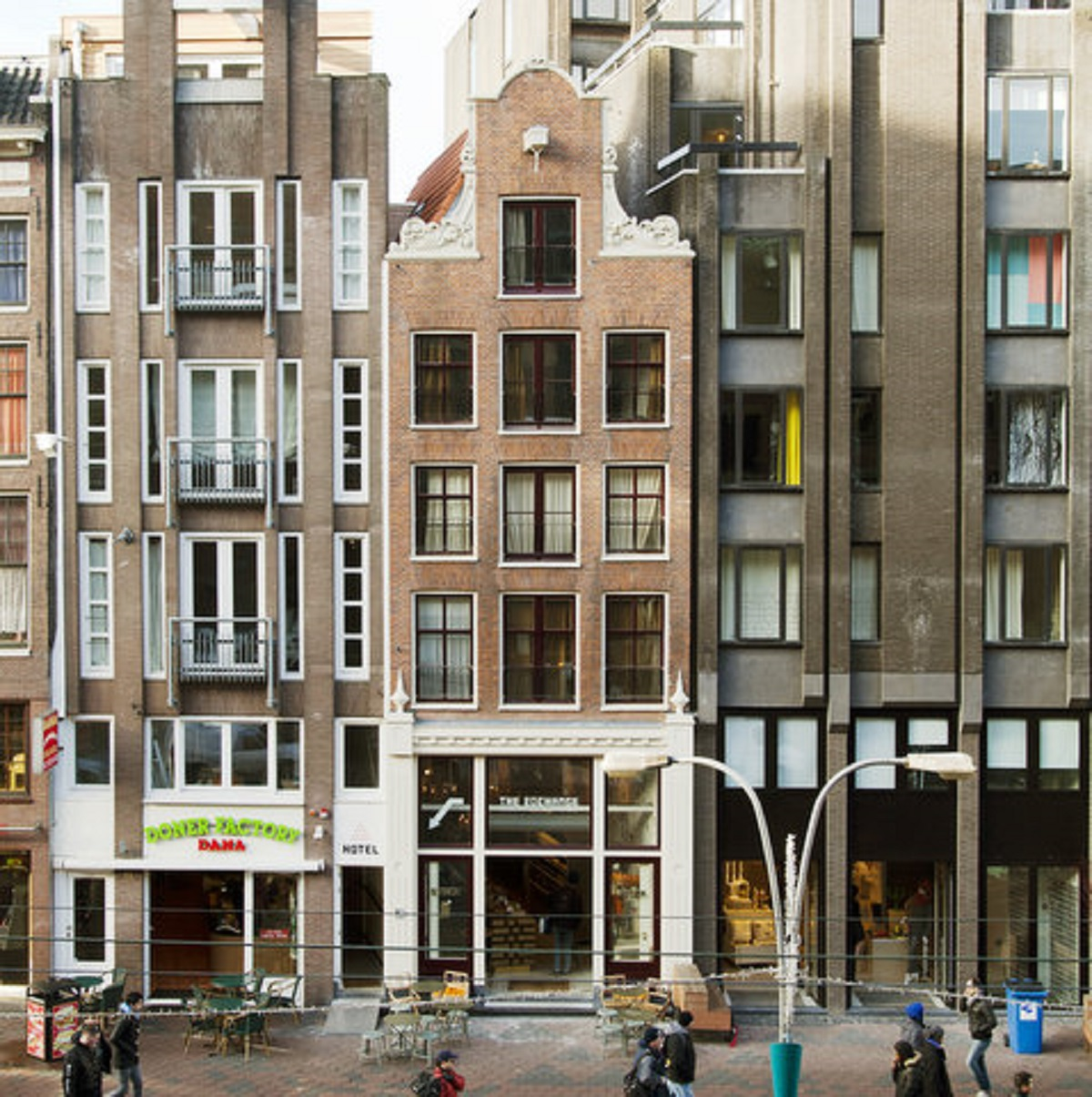 Boutique hotel the exchange amsterdam 10 favorite rooms for Amsterdam hotel