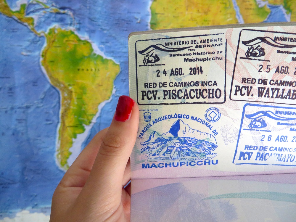 Endlessly Exploring Passport Stamp