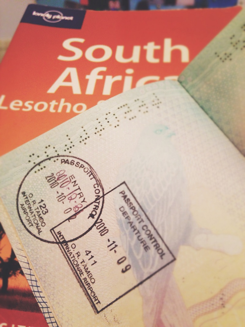 My Favourite Passport Stamp Is The First One I Received In This Passport (i  Have Gone On To Get A Lot More Since) This Trip To South Africa