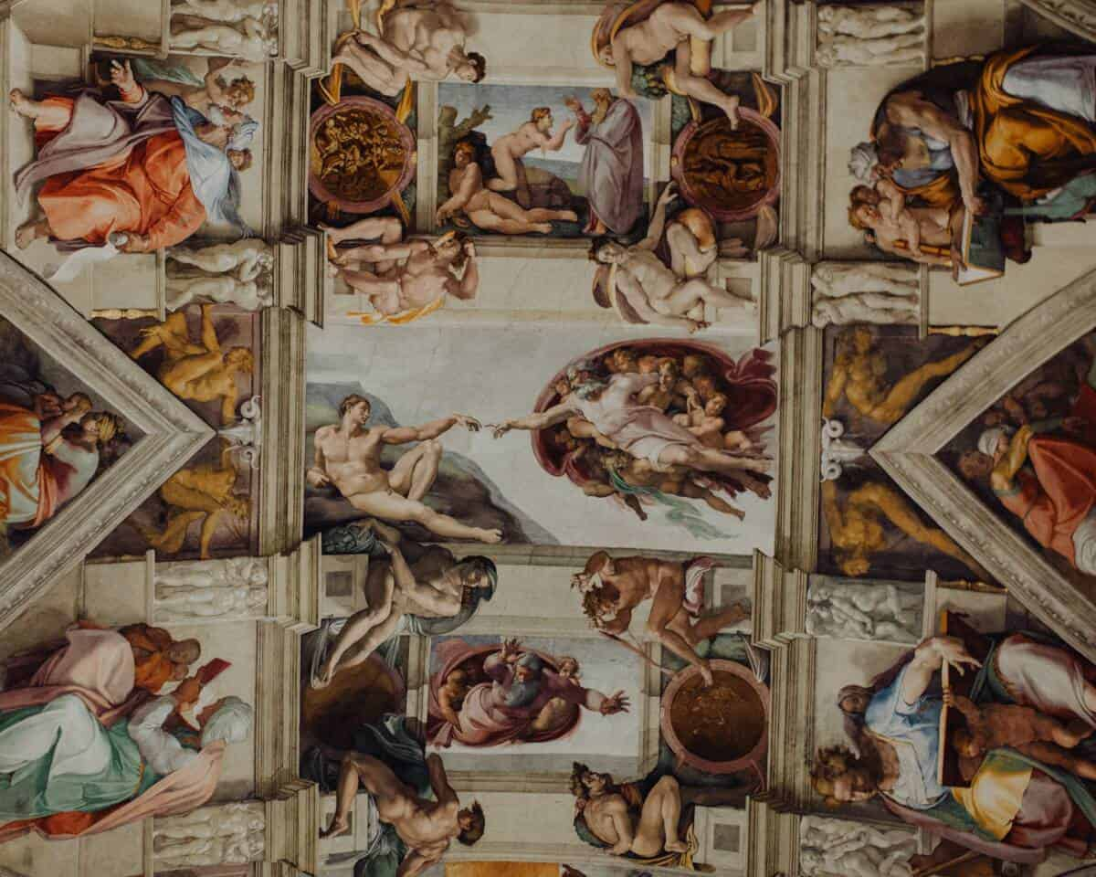 Ceiling of Sistine Chapel