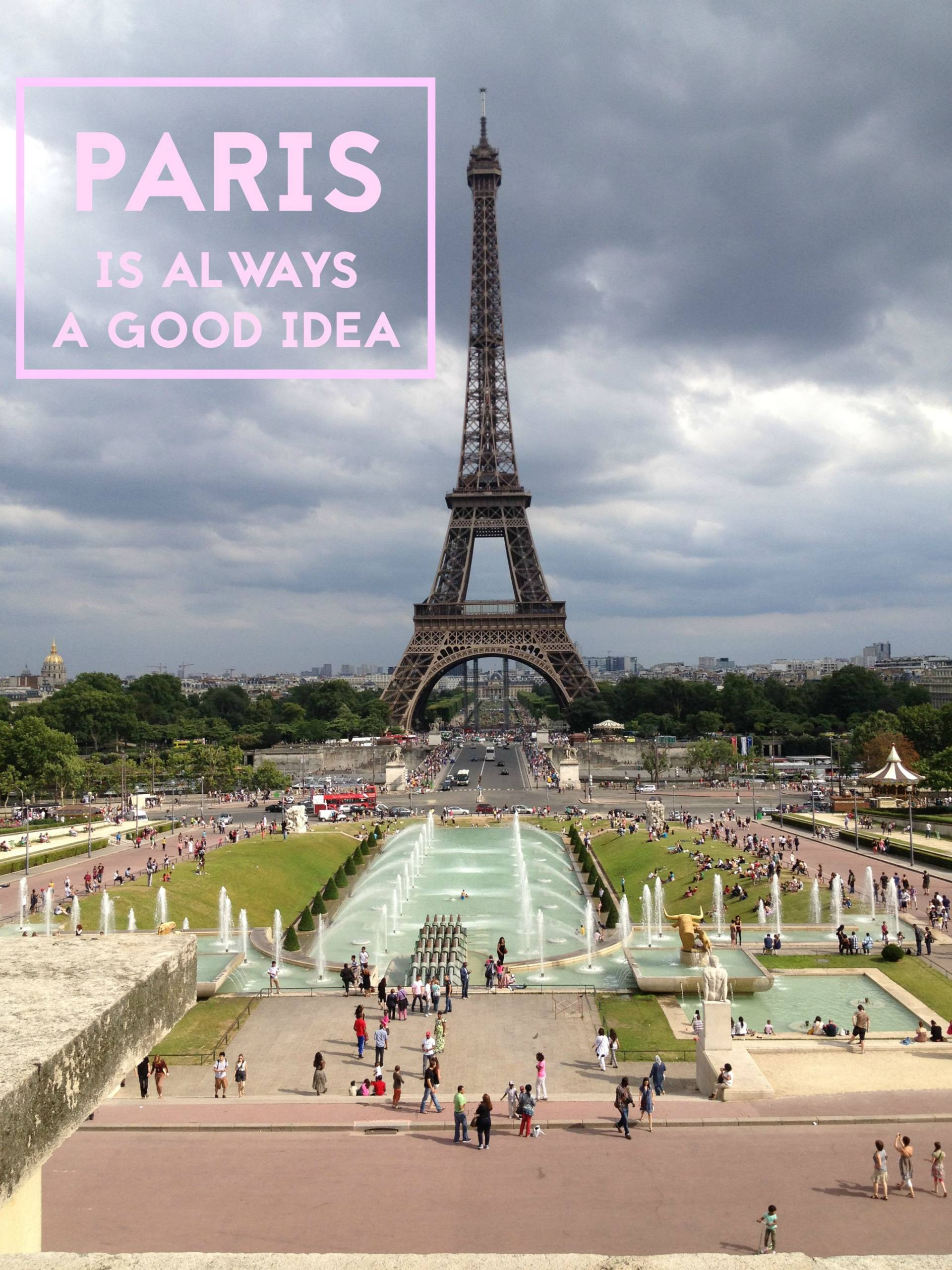 Paris travel quote
