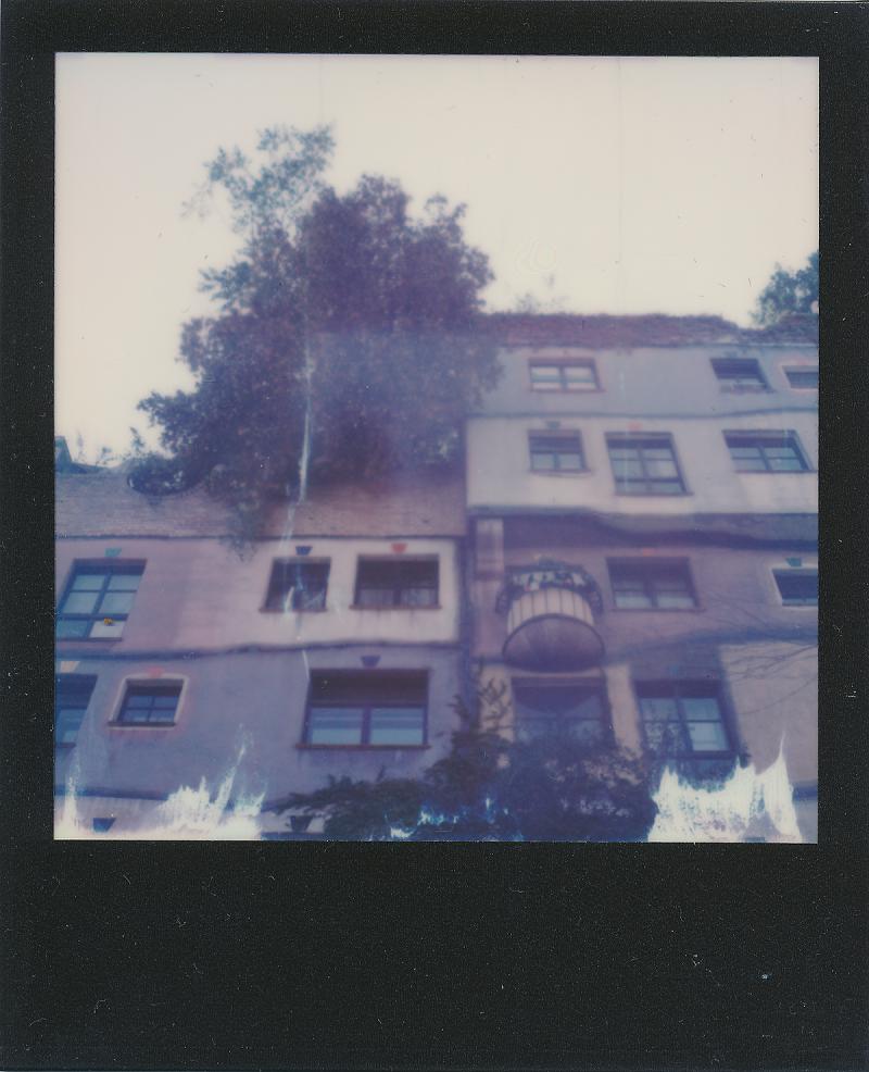 Vienna Austria Polaroid