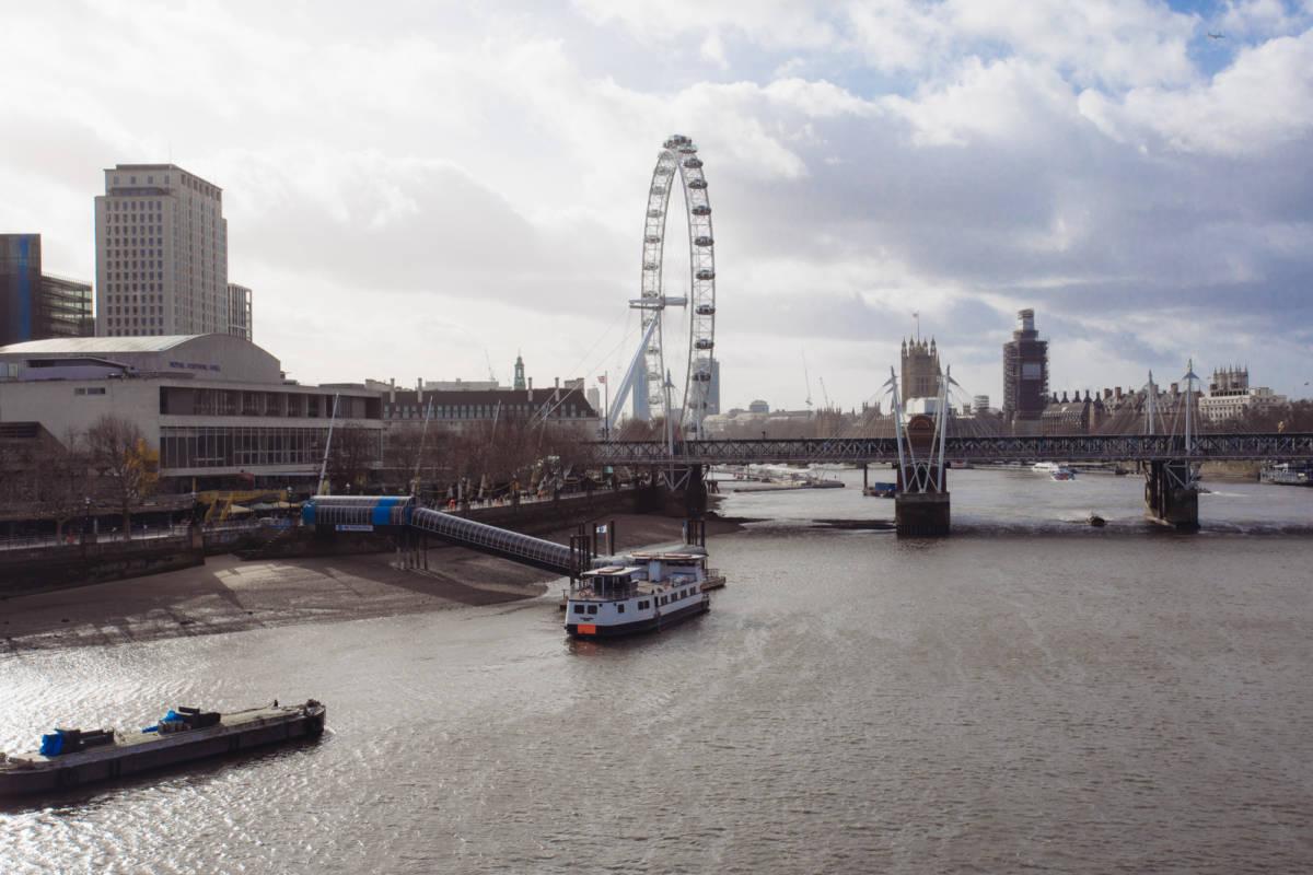 London Southbank February 2019