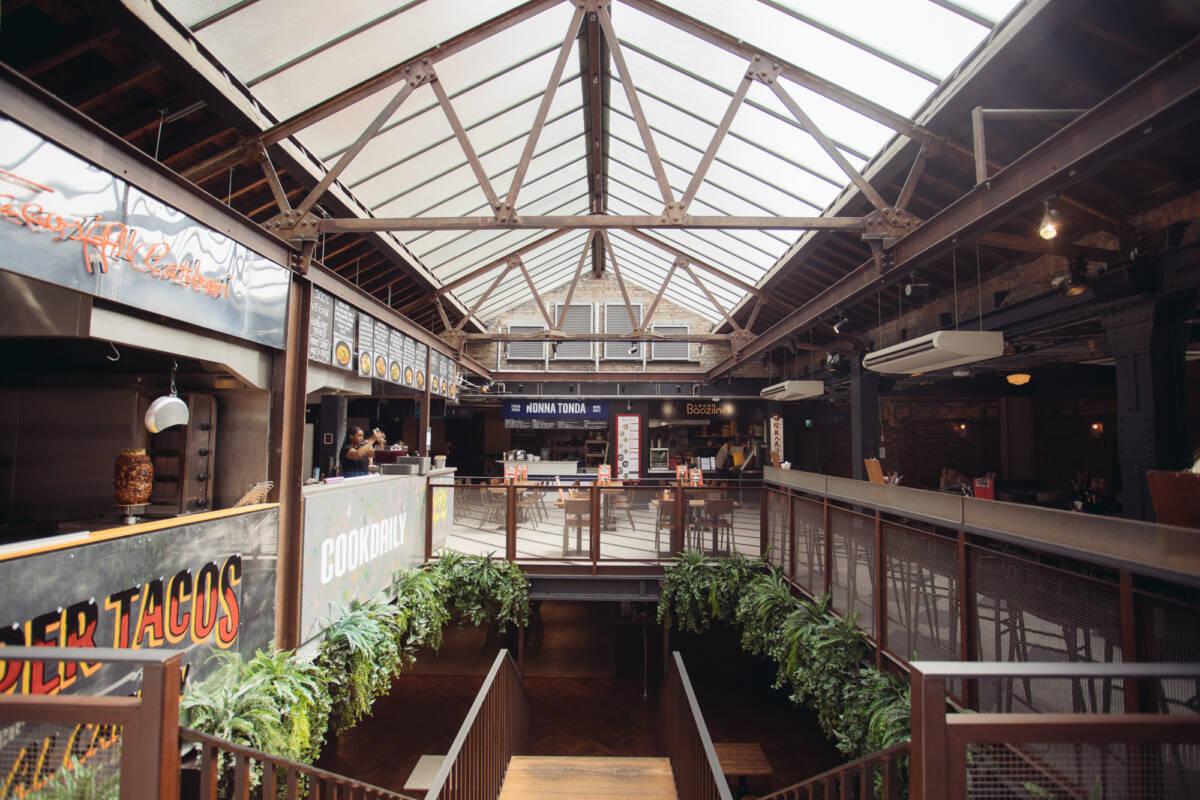 food hall london Market Hall Victoria