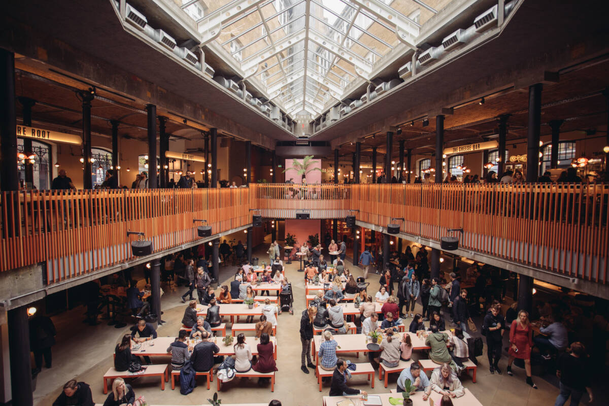 London Food Hall Seven Dials Market - Covent Garden