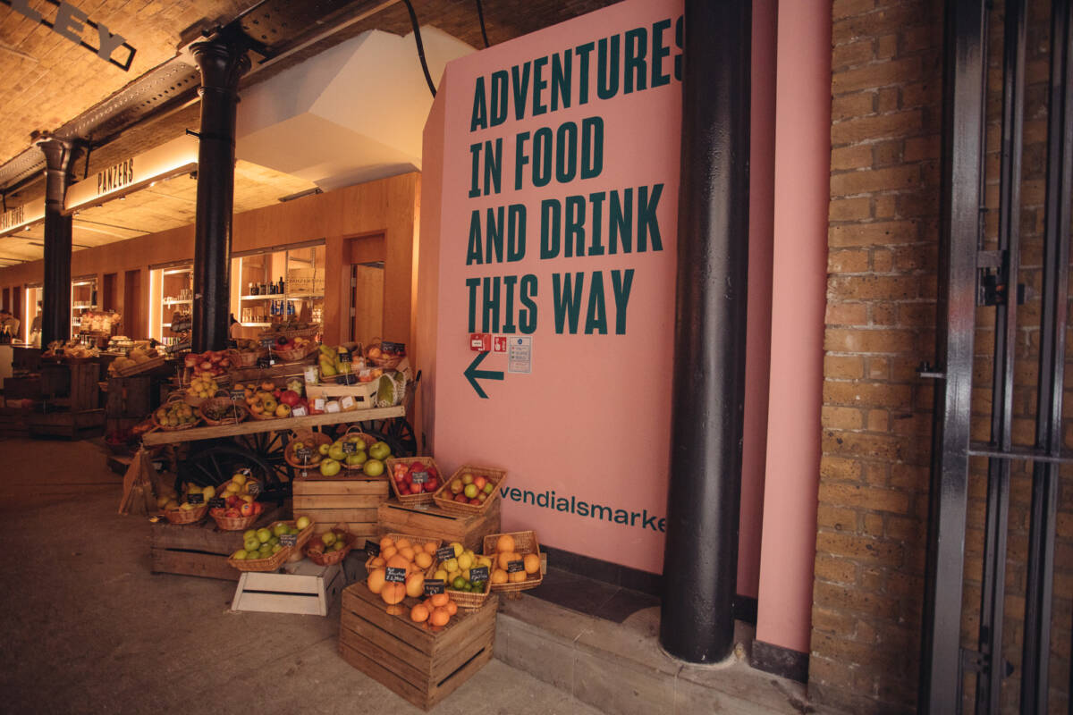 London Food Hall Seven Dials Market - Covent Garden