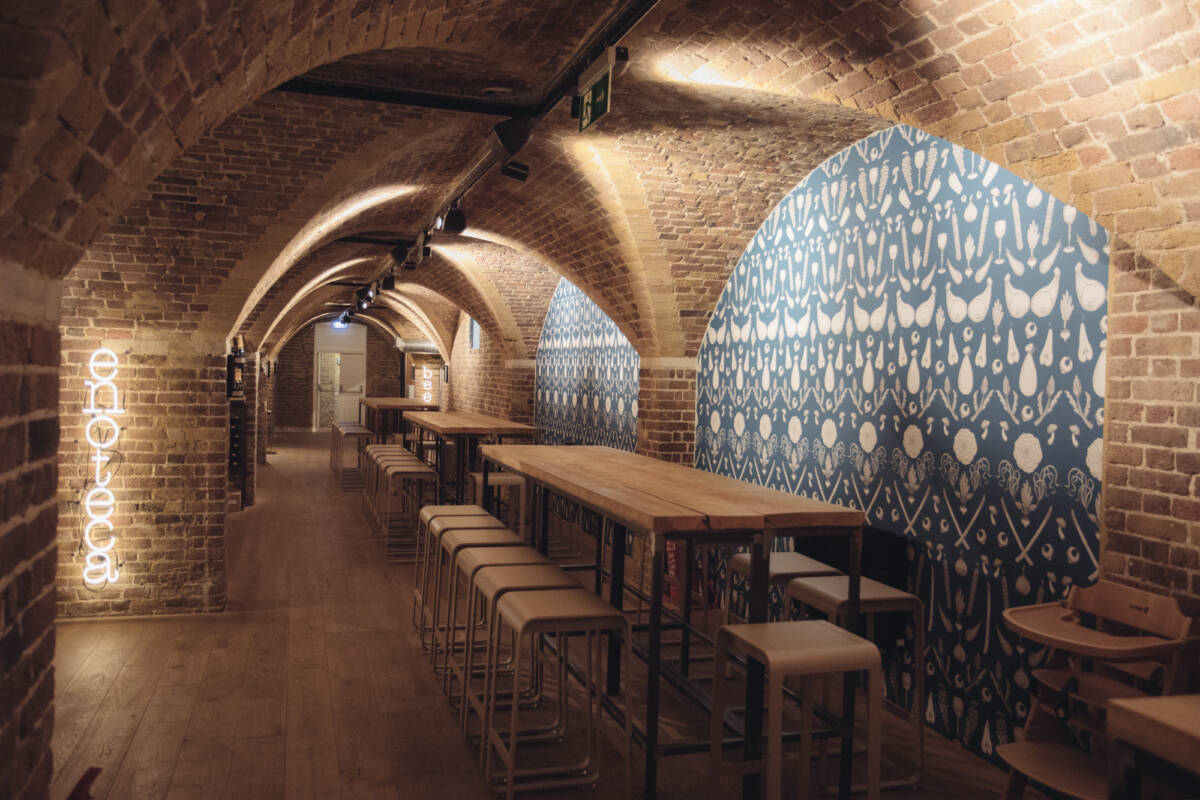 food hall london Mercato Metropolitano Mayfair - Mayfair