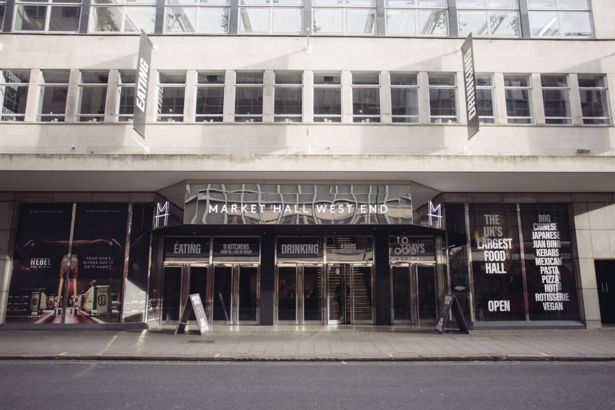 food hall london Market Hall Oxford Street - West End