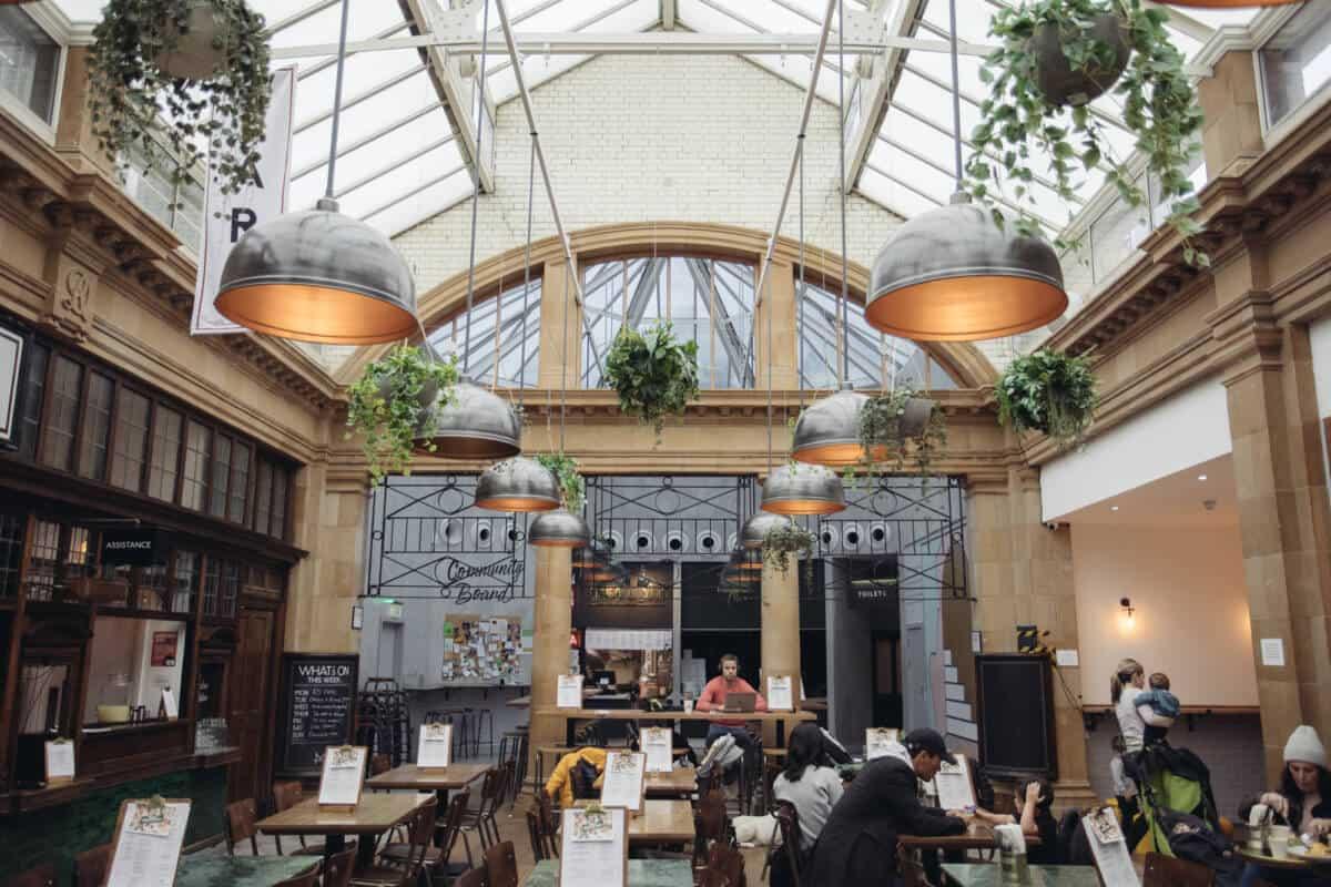 food hall london Market Hall Fulham