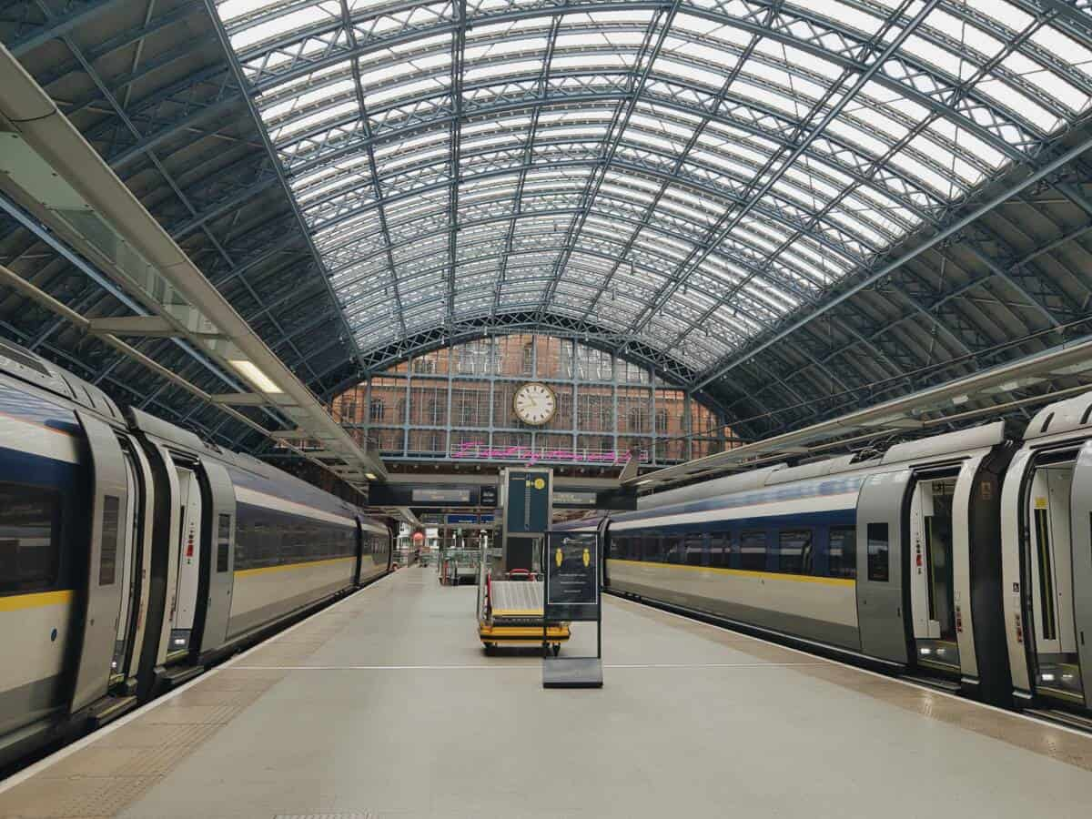 St Pancras Eurostar