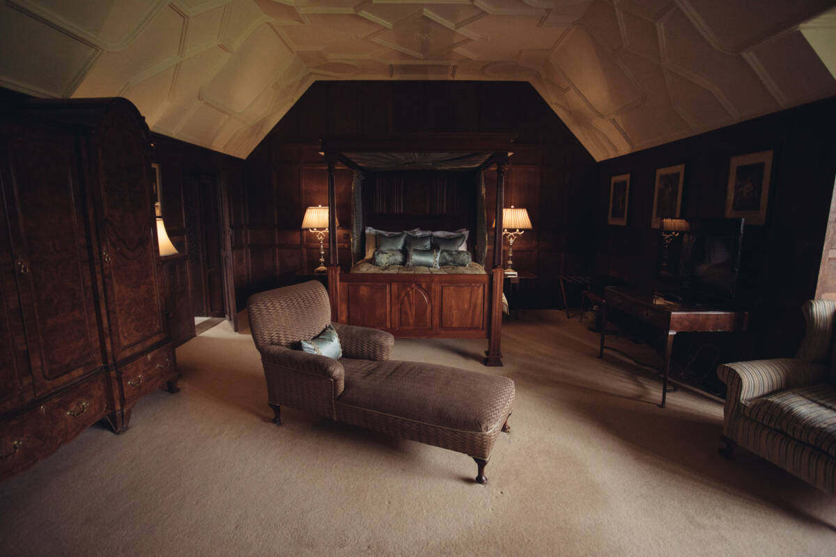 Hever Castle - unusual place to stay