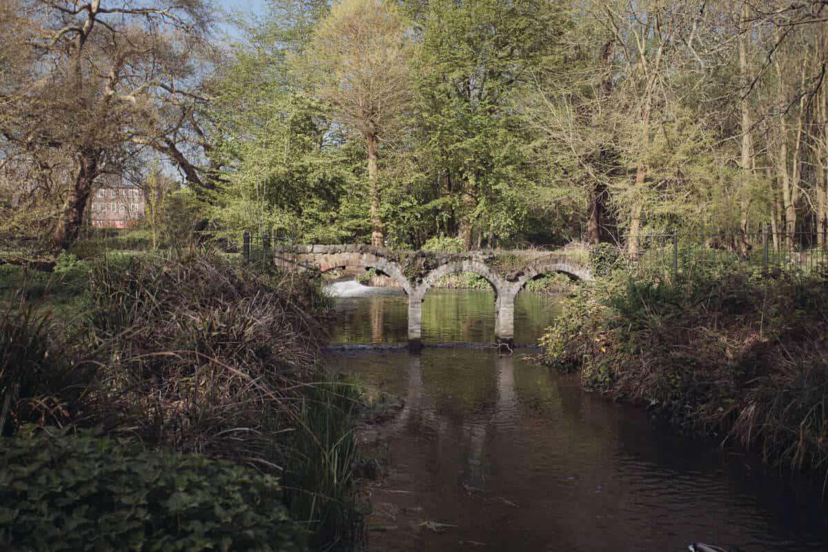 Merton Hall Park Bridge