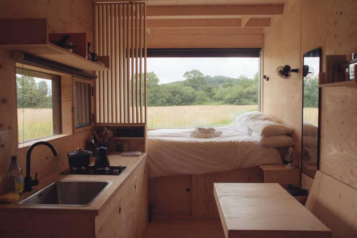 Unplugged Gruff Cabin Tiny House